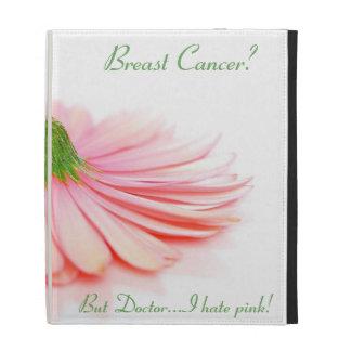 iPad Folio Case for breast cancer survivor