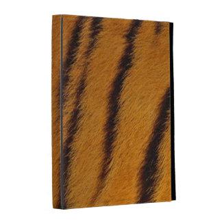 iPad Folio Case - Tiger Fur - Orange