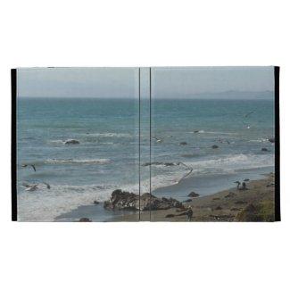 iPad Folio: Coast at Moonstone Beach, Cambria, CA iPad Folio Cover