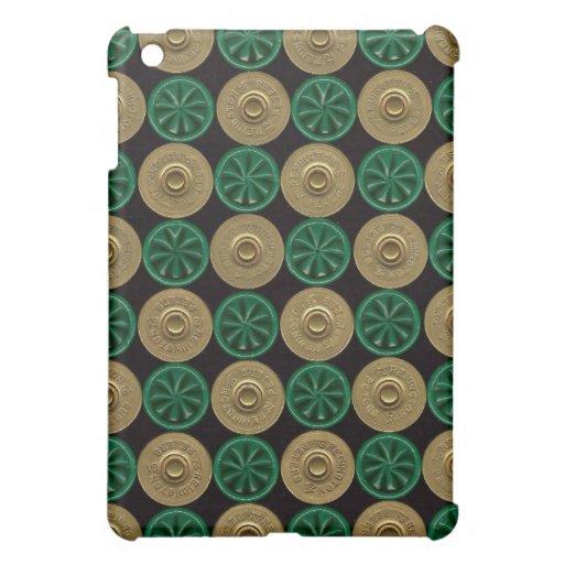 ipad green shotgun shells cover iPad mini cases