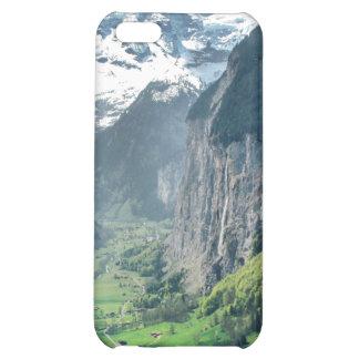 iPad iPhone iPod case with Switzerland landscape iPhone 5C Case