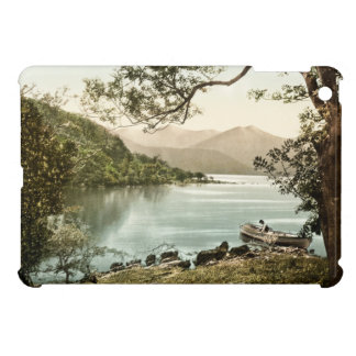 iPad irlandés pacífico del lago Kerry y de las mon