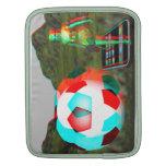 iPad Laptop 3D Soccer Girl Sleeves iPad Sleeves