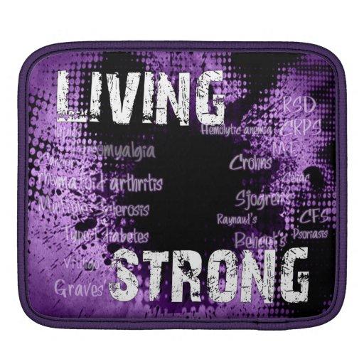 iPad Living Strong Case iPad Sleeve