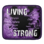 iPad Living Strong Case Sleeves For iPads