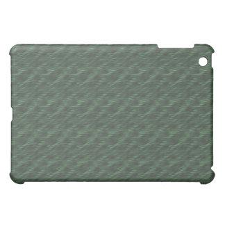 iPad metálico verde de las ondas