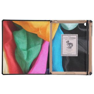iPad: Mezcla del color de telas de seda