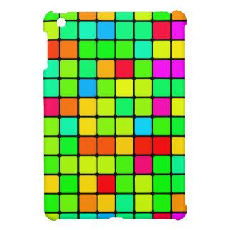 iPad Mini/Air retro colorful vibrant blocks Case For The iPad Mini