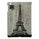 iPad mini Cas de la torre Eiffel de la postal del  iPad Mini Funda