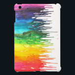 "IPad Mini case<br><div class=""desc"">MElted crayons look so good on cases!! especially this one!</div>"