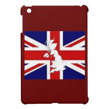 Ipad Mini Case British Flag by creativeconceptss at Zazzle