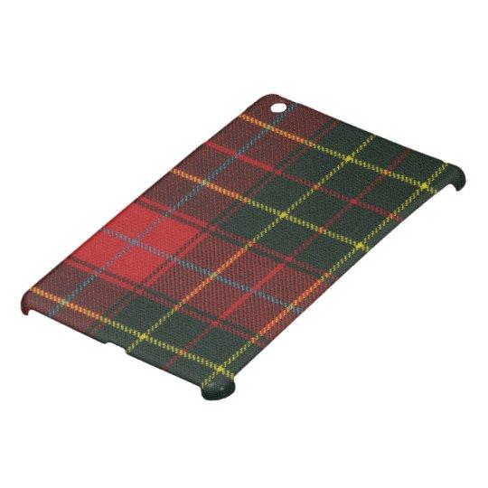 iPad MINI Case Burnett Modern Tartan Print