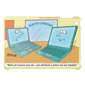 iPad Mini Case - Cartoon Laptops Talking About Win