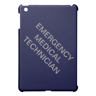 "Ipad mini case ""EMERGENCY MEDICAL TECHNICIAN"""