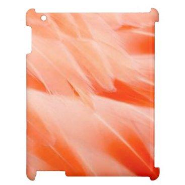 iPad mini case flamingo feathers