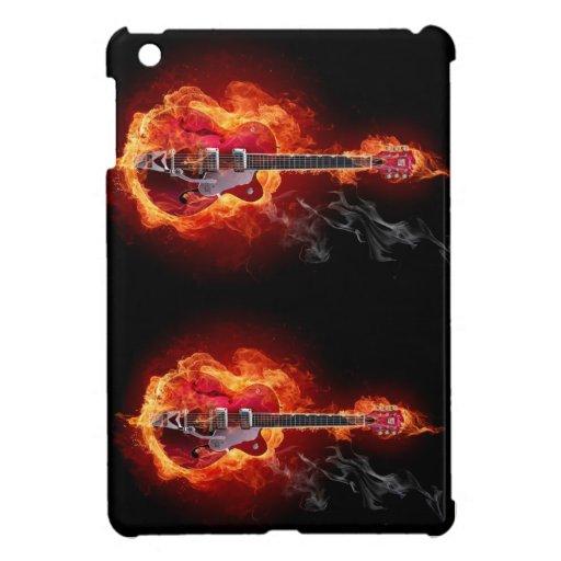 ipad mini case, guitar, rock and roll, hell iPad mini cover