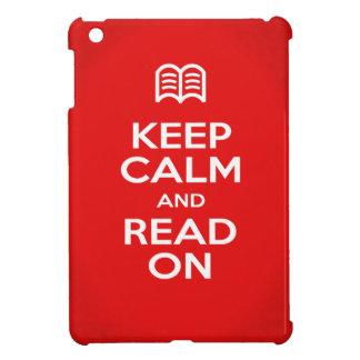 iPad Mini Case - Keep Calm and Read On