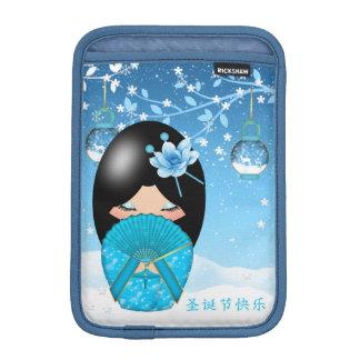 ipad mini case kokeshi Christmas Doll iPad Mini Sleeves