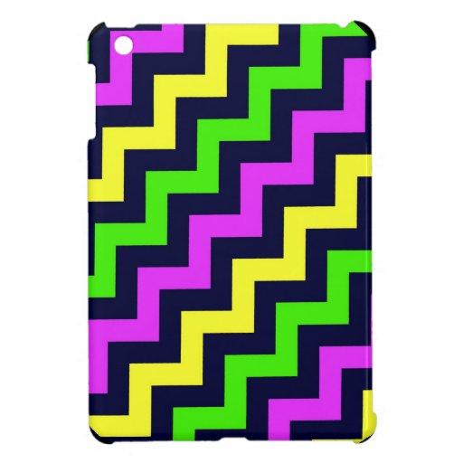 iPad Mini Case - Party Colored Chevron