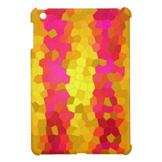 iPad Mini Case Pink Gold Nuggets