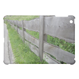 iPad Mini Case: Plank Fence in the Dolomites