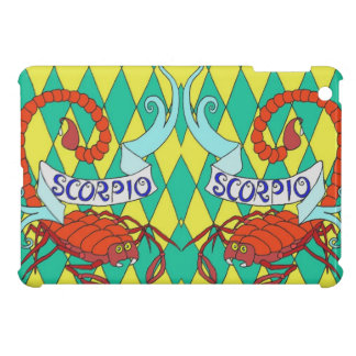 iPad Mini case Psychedelic Scorpio