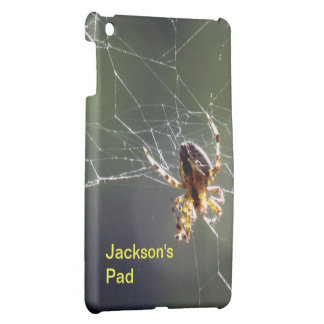 iPad Mini Case - Spider on web