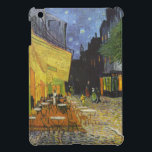 """iPad Mini Case Van Gogh Cafe Terrace at Night<br><div class=""""desc"""">This iPad Mini case features an oil painting by Dutch artist Vincent Van Gogh titled """"Cafe Terrace at Night"""",  also known as """"The Cafe Terrace on the Place du Forum"""".  Painted in Arles,  France in 1888.  Please choose a finish.</div>"""
