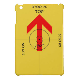 Ipad Mini Case - vert - template