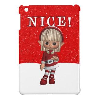 iPad mini case with Elf who is Nice