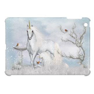 iPad Mini Case With Fantasy Winter Unicorns