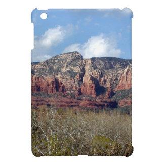 iPad mini case with photo of Arizona red rocks
