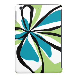 iPad mini case with pop floral