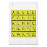 ABCDE FGHIJ KLMNO PQRST VWXYZ  iPad Mini Cases
