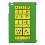 keep calm and love Retha wa Bongz  iPad Mini Cases