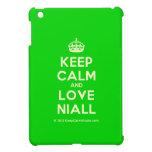 [Crown] keep calm and love niall  iPad Mini Cases