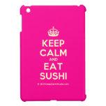 [Crown] keep calm and eat sushi  iPad Mini Cases