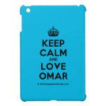 [Crown] keep calm and love omar  iPad Mini Cases