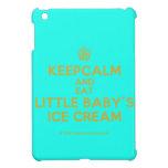 [Cupcake] keepcalm and eat little baby's ice cream  iPad Mini Cases