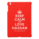 [Crown] keep calm and love hassan  iPad Mini Cases