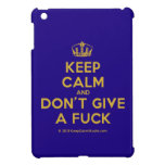 [Dancing crown] keep calm and don't give a fuck  iPad Mini Cases