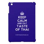 [Crown] keep calm and eat taste of thai  iPad Mini Cases