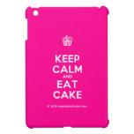 [Cupcake] keep calm and eat cake  iPad Mini Cases
