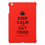 [Cutlery and plate] keep calm and eat food  iPad Mini Cases
