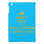 [Two hearts] don't cry coz niall horan loves you  iPad Mini Cases