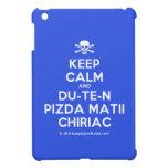 [Skull crossed bones] keep calm and du-te-n pizda matii chiriac  iPad Mini Cases