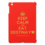 [Crown] keep calm and eat destinay♥  iPad Mini Cases