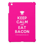 [Chef hat] keep calm and eat bacon  iPad Mini Cases