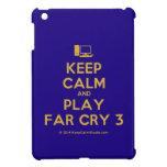 [Computer] keep calm and play far cry 3  iPad Mini Cases