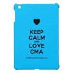 [Love heart] keep calm and love cma  iPad Mini Cases